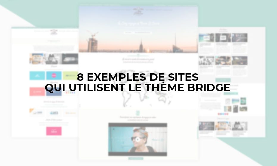 exemple site avec bridge theme